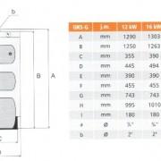 UKS-G dimensiuni schita 111